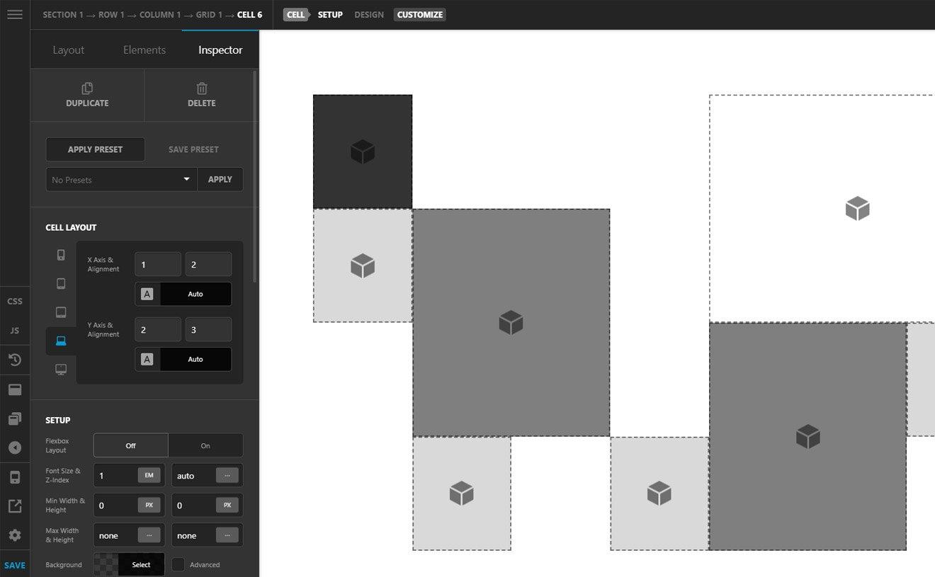 Pro Theme CSS Grid Layout