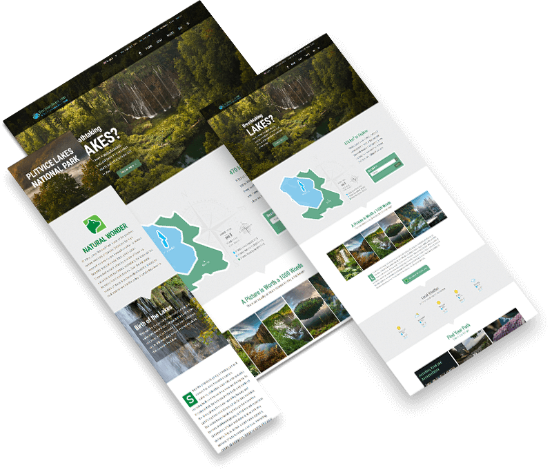Discover Plitvice Website